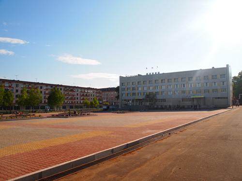 現在の中央広場