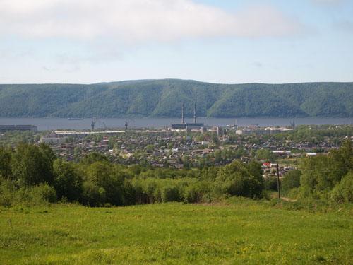 尼港山頂からの写真