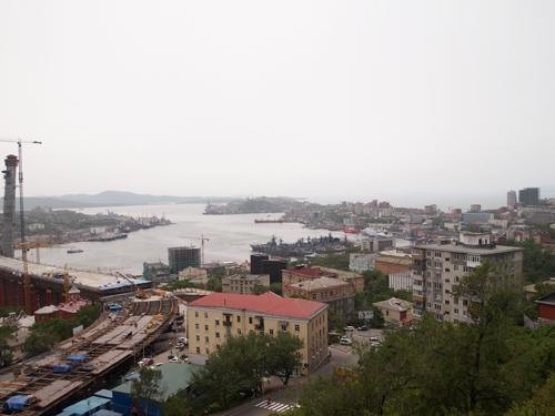 ウラジオストックの景色