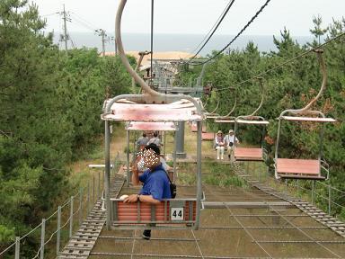 鳥取砂丘リフト