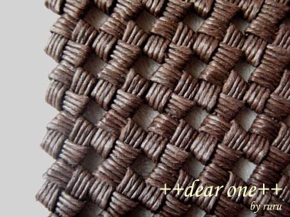 石畳編みのコースター130915_8
