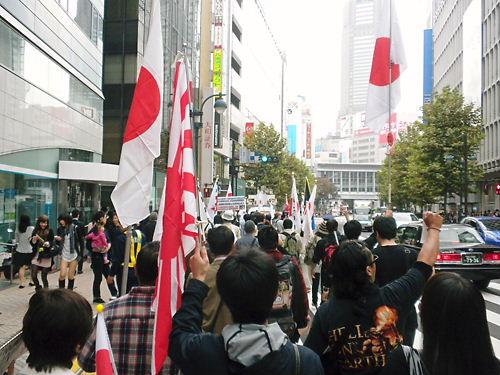 大日本帝国憲法 復元デモ!20131103