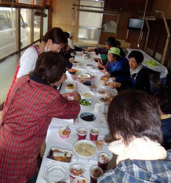 稲種蒔4月6日1荒井食事