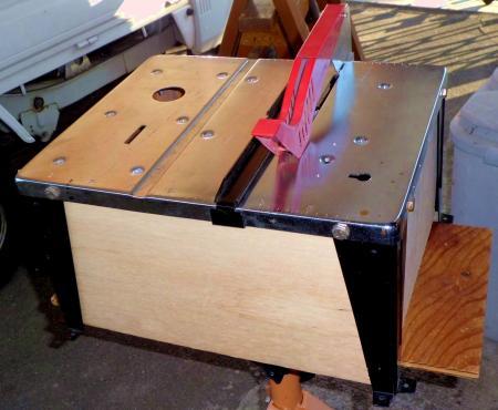 丸ノコテーブル集塵箱2
