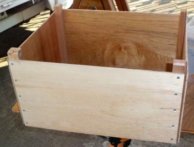 丸ノコテーブル集塵箱