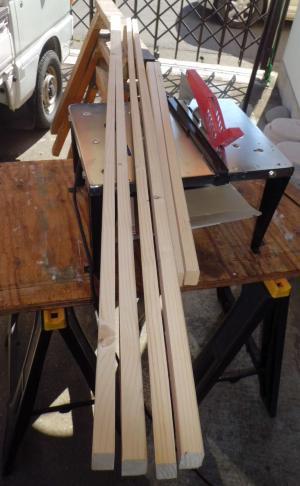 2×3材挽き割り