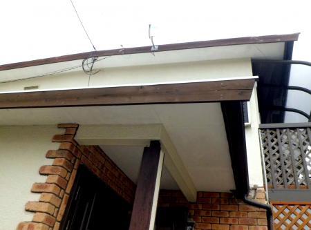 屋根破風交換1