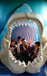 オレゴン水族館で