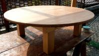円形テーブル座卓時