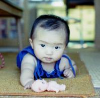 Qの幼児期写真