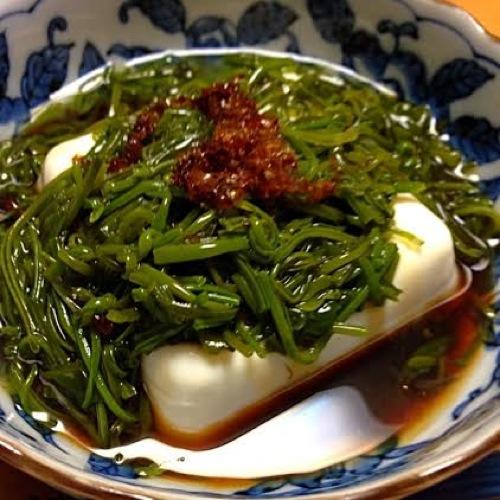 1めかぶ豆腐