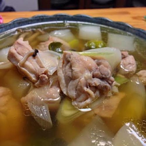 2鶏和風スープ