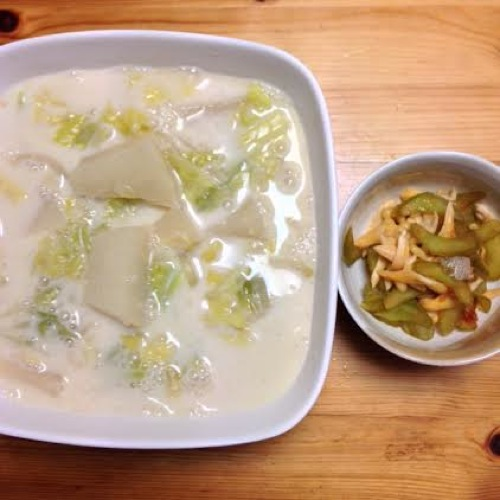 2聖護院大根のスープ