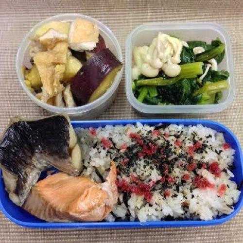 5鯖鮭弁当