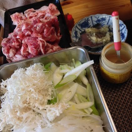 5豚しゃぶ食材