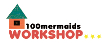 100mermaids_logo のコピー