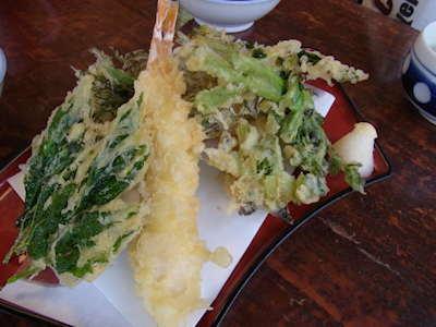 野草天ぷら