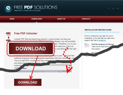 Free PDF Unlocker ダウンロード