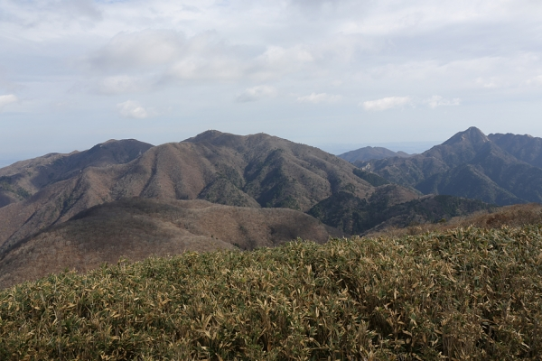 東雨乞岳から御在所、鎌ヶ岳