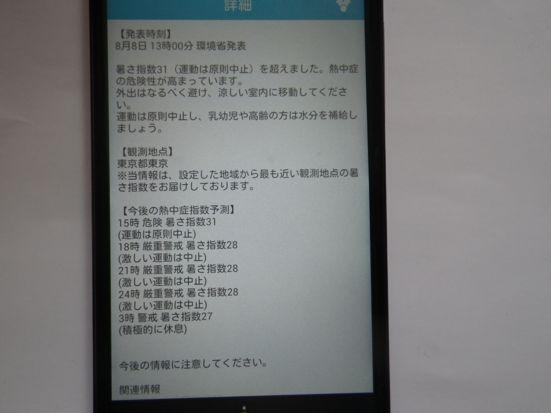 2013.8.8 熱中症情報