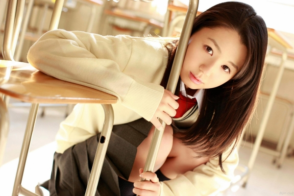 グラビアアイドル 小池里奈 女子高生 スクール水着 エロ画像020a.jpg