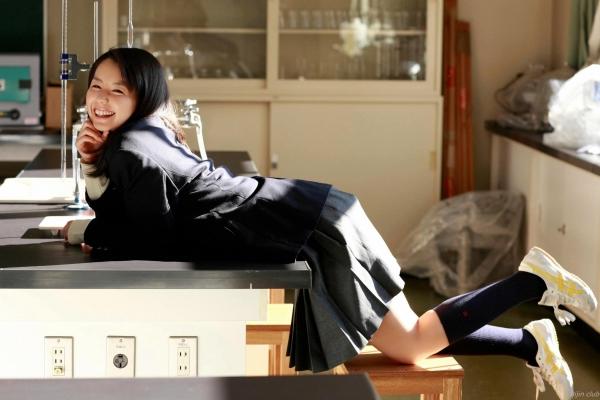 グラビアアイドル 小池里奈 女子高生 スクール水着 エロ画像026a.jpg