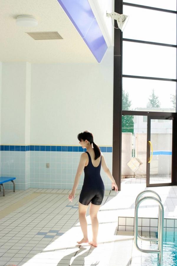グラビアアイドル 小池里奈 女子高生 スクール水着 エロ画像067a.jpg