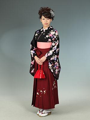 秋田の卒業写真 スタジオ撮影 卒業式 チエミさん