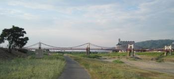 天気の良い石川河川敷