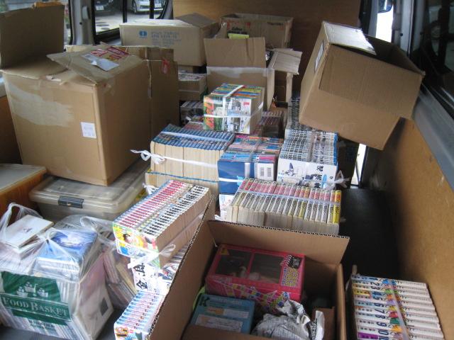20141019_CD300枚・フィギュア40体、コミックセット500冊