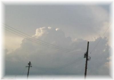 積乱雲のたまご?
