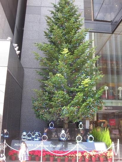 9ミキモトクリスマスツリー 1117