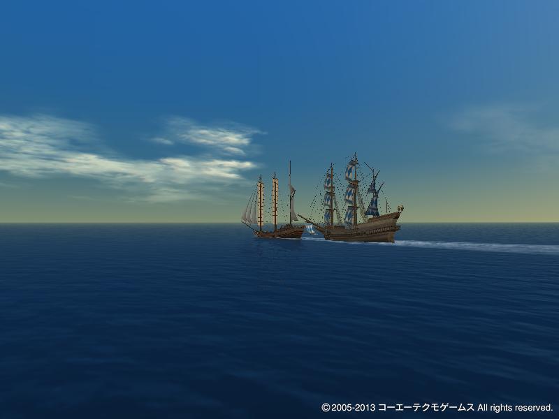 大海原をかけ巡り