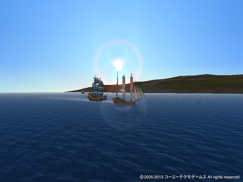 航海に出るファクラー一行