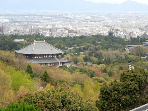 お宿からの東大寺