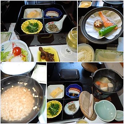 三笠の朝食