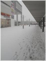 140208G 012駅前雪原