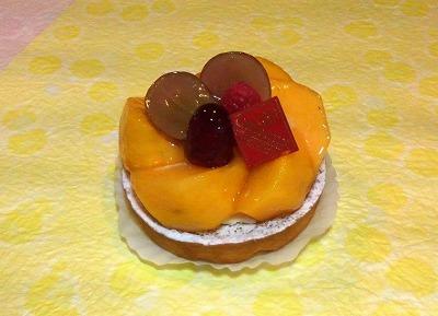 s-柿のショートケーキ