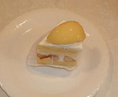 s-桃のケーキ