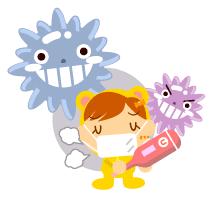ウィルス赤ちゃん