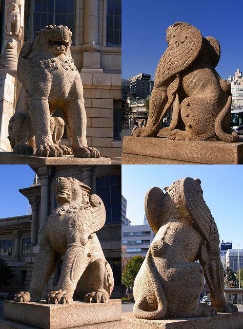 130220築地本願寺の動物たち-1