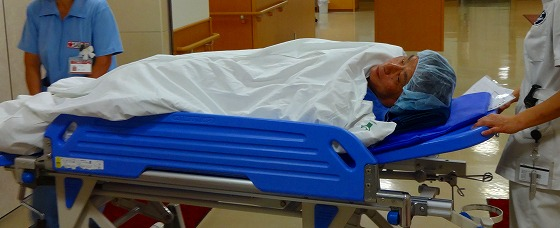 130701病棟から手術室へ