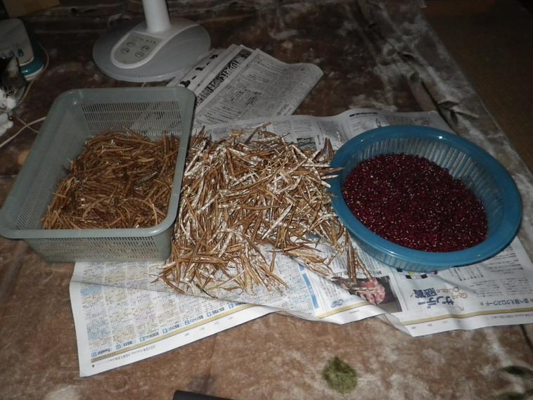 小豆殻剥き13_10_16
