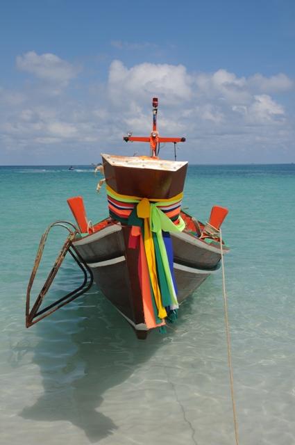 サンライズビーチのボート