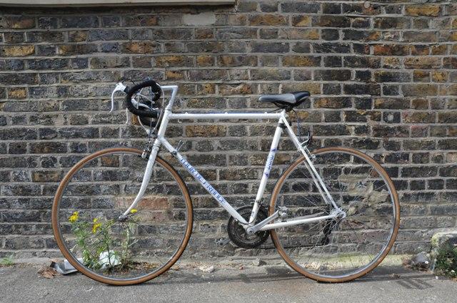 ロンドンの自転車