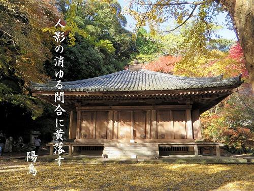 黄落の富貴寺