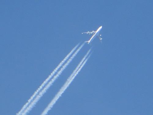 飛行機雲その1