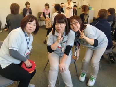 仲良し3人組、富岡町のムードメーカー
