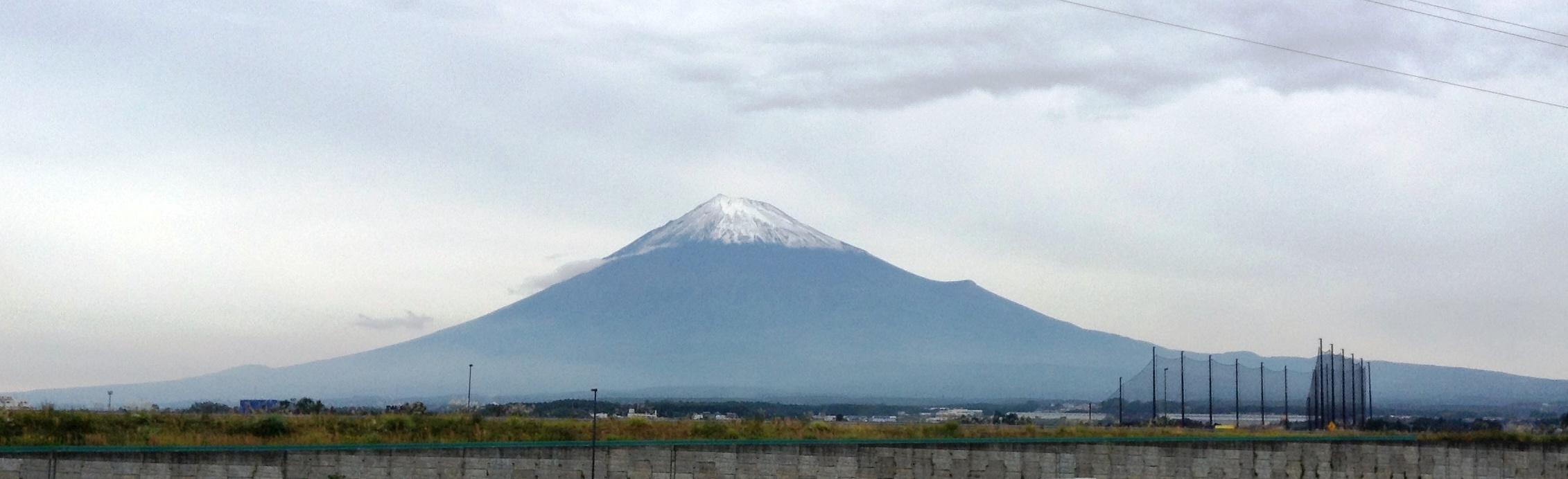新富士より富士山