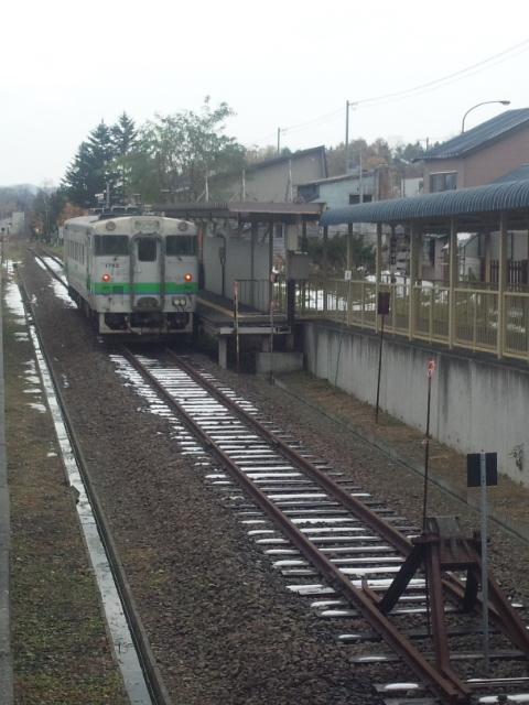 夕張駅-ホーム
